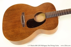 C F Martin 000-15M Mahogany Steel String Guitar Top View