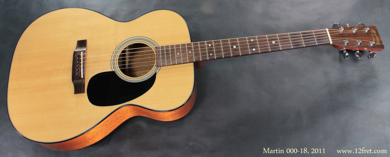 Martin 000-18 2011 full front view
