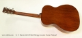 C. F. Martin 000-18 Steel String Acoustic Guitar Natural Full Rear View