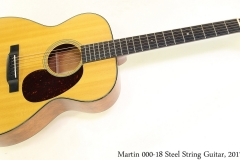 Martin 000-18 Steel String Guitar, 2017 Full Front View