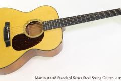Martin 00018 Standard Steel String Guitar, 2019 Full Front View