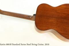 Martin 00018 Standard Steel String Guitar, 2019 Full Rear View