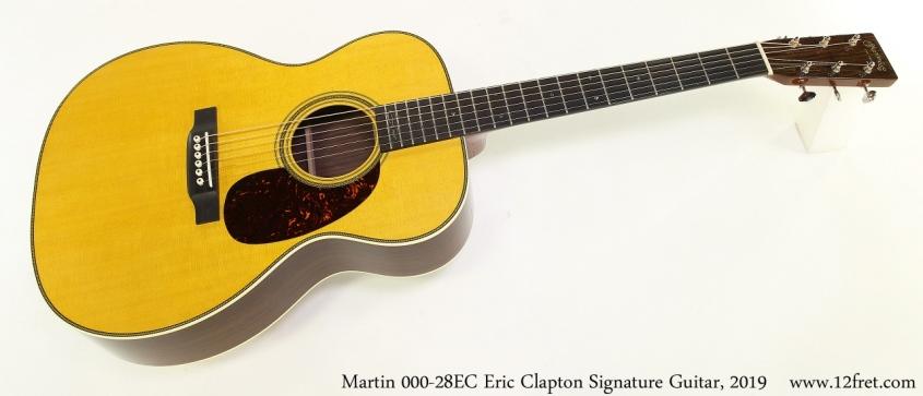 Martin 000 28EC Eric Clapton Signature Guitar, 2019 Full Front View