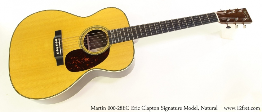 Martin 000-28EC Eric Clapton Signature Model, Natural Full Front View