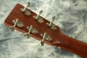Martin 00-15M Steel String Guitar 2011 head rear view