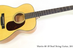 Martin 00 18 Steel String Guitar, 2019 Full Front View