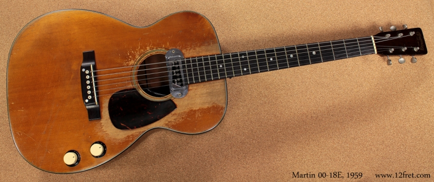 Martin 00-18E 1959 full front view
