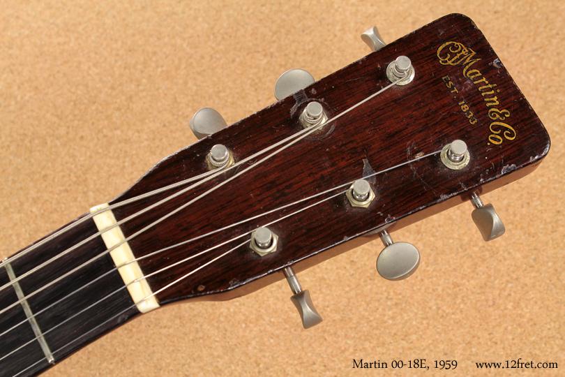 Martin 00-18E 1959 head front