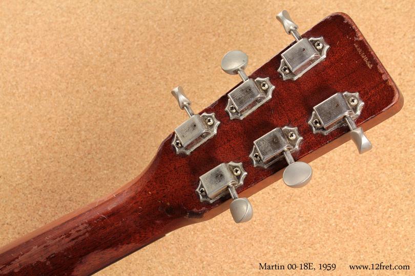 Martin 00-18E 1959 head rear