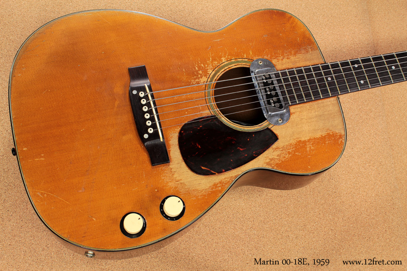 Martin 00-18E 1959 top
