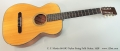 C. F. Martin 00-18G Nylon String Folk Guitar, 1958 Full Front View