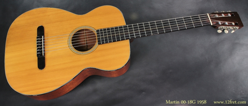 Martin 0018G 1958 full front view