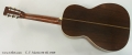 C. F. Martin 00-28 Steel String Acoustic Guitar, 1929 Full Rear View