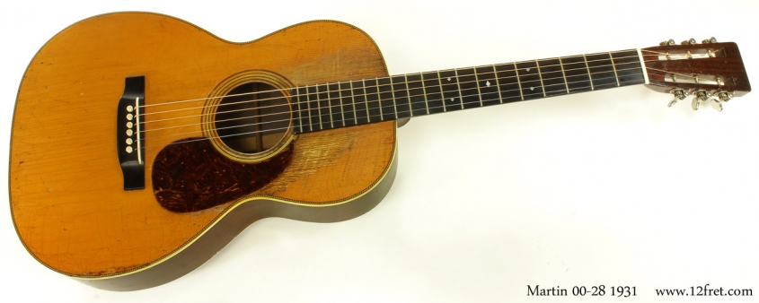 Martin 00-28 1931 full front view