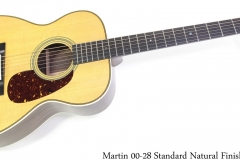 Martin 00-28 Standard Natural Finish Full Front View