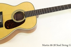Martin 00 28 Steel String Guitar Full Front View
