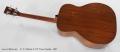 C. F. Martin 0-17T Tenor Guitar, 1937 Full Rear View