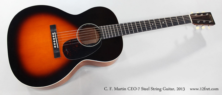 C. F. Martin CEO-7 Steel String Guitar, 2013 Full Front View