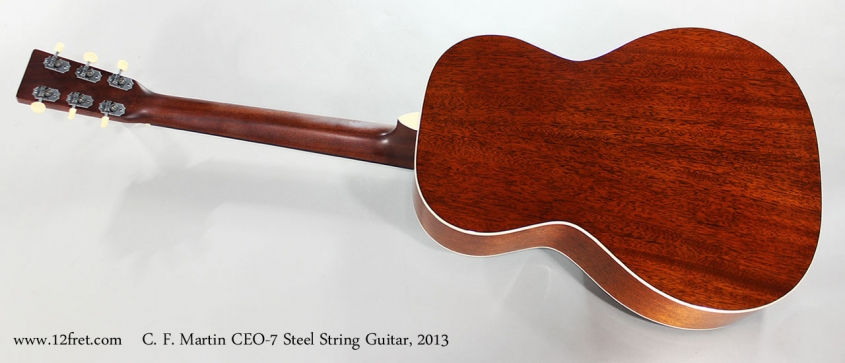 C. F. Martin CEO-7 Steel String Guitar, 2013 Full Rear View