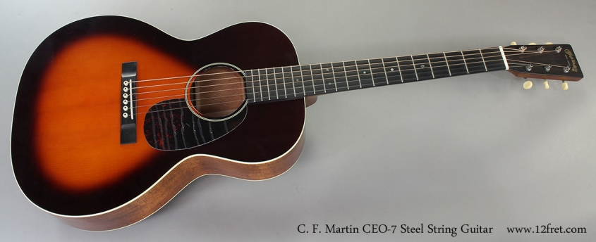 C. F. Martin CEO-7 Steel String Guitar Full Front View