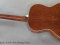 C. F. Martin CEO-7 Steel String Guitar Full Rear View