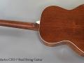 C. F. Martin CEO-7 Steel String Guitar Full Rear View