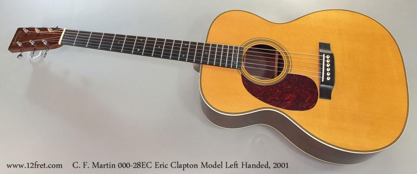C. F. Martin 000-28EC Eric Clapton Model Left Handed, 2001 Full Front View