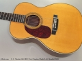 C. F. Martin 000-28EC Eric Clapton Model Left Handed, 2001 Top