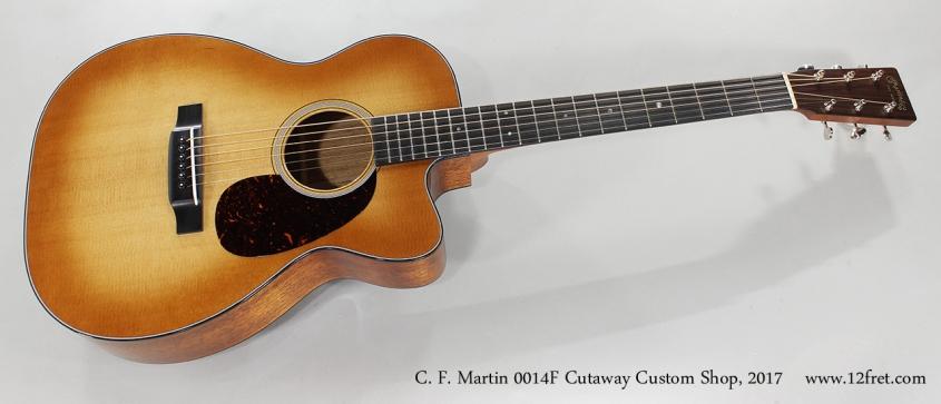 C. F. Martin 0014F Cutaway Custom Shop, 2017 Full Front View
