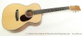 C. F. Martin Custom Shop 00-14F Flamed Koa Steel String Guitar, 2017 Full Front View