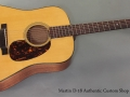 Martin D-18 Authentic Custom Shop 2014 full front view