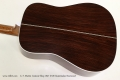 C. F. Martin Custom Shop 1947 D-28 Guatemalan Rosewood Back View