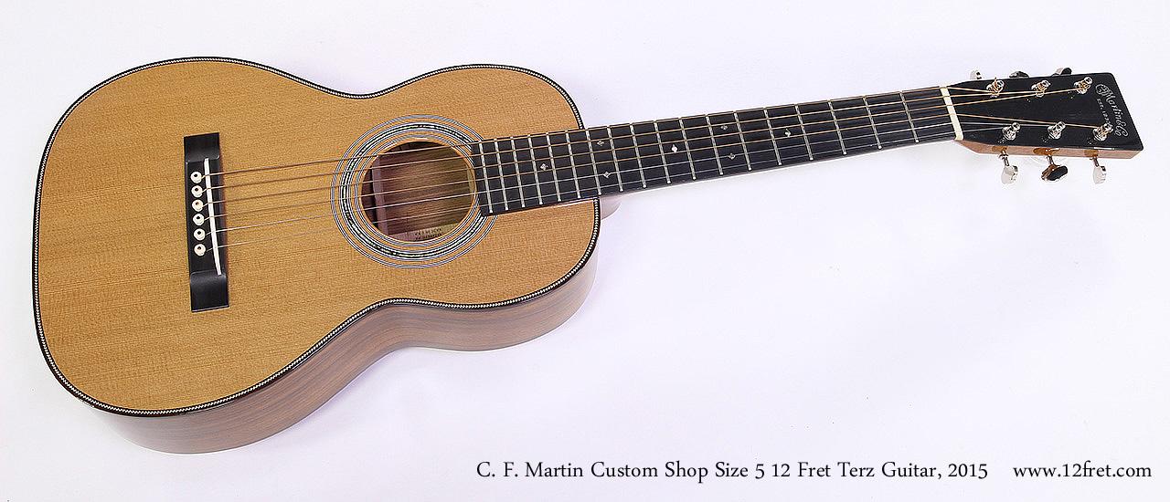 C. F. Martin Custom Shop Size 5 12 Fret Terz Guitar, 2015 Full Front View