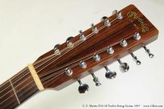 C. F. Martin D12-18 Twelve String Guitar, 1977  Head Front View