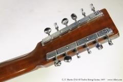 C. F. Martin D12-18 Twelve String Guitar, 1977  Head Rear View
