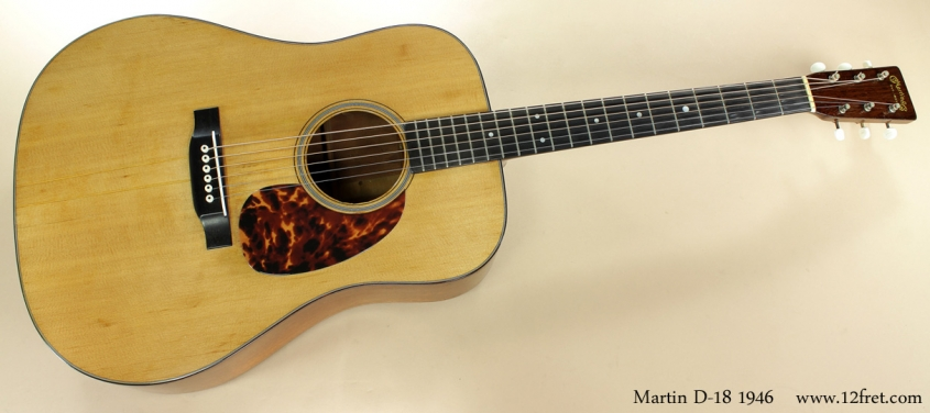Martin D-18 1946 full front view