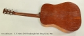 C. F. Martin D-18 Dreadnought Steel String Guitar, 1954 Full Rear View