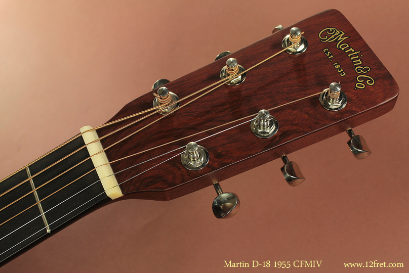 Martin D-18 1955 CFMIV head front view