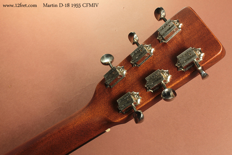Martin D-18 1955 CFMIV head rear view