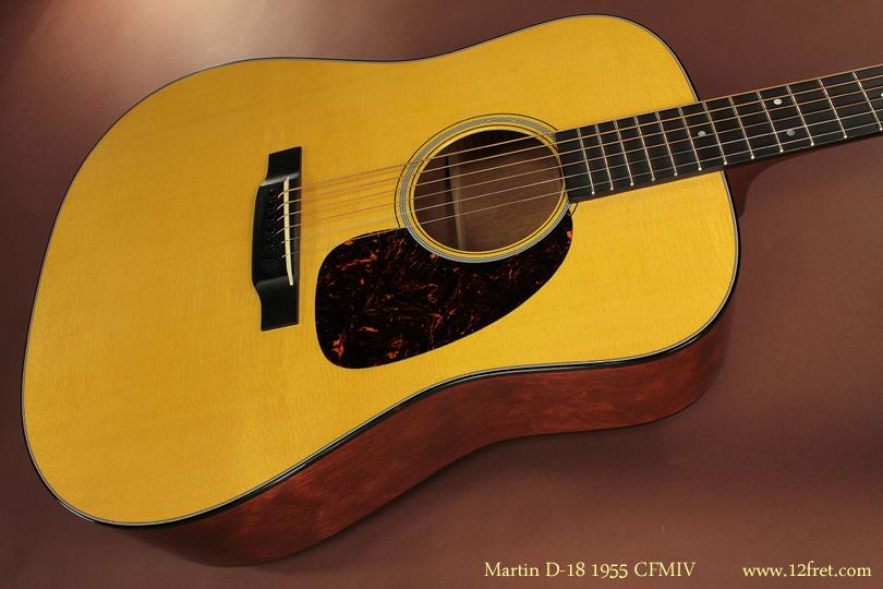 Martin D-18 1955 CFMIV top