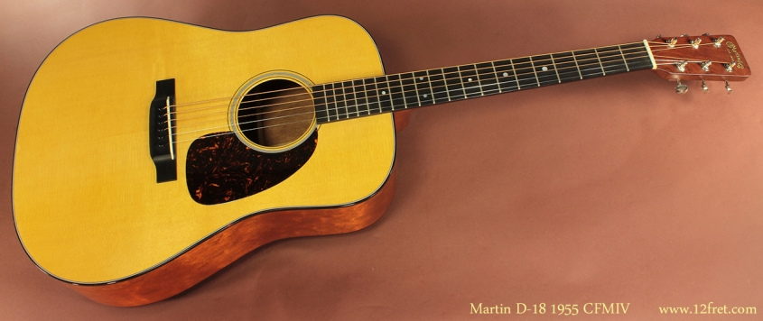 Martin D-18 1955 CFMIV full front view