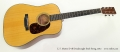 C. F. Martin D-18 Dreadnought Steel String, 2012 Full Front View