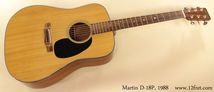 Martin D-18P 1988 full front view