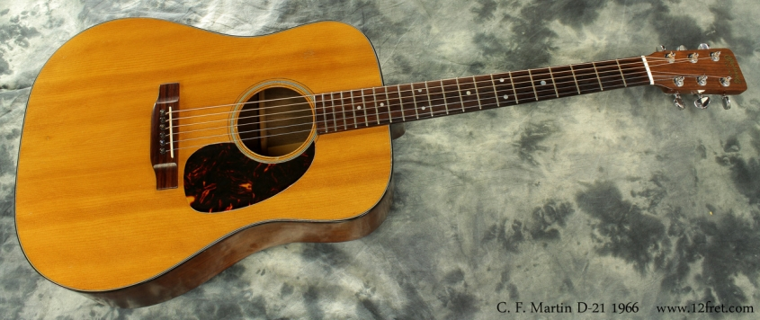 Martin D-21 1966 full front view