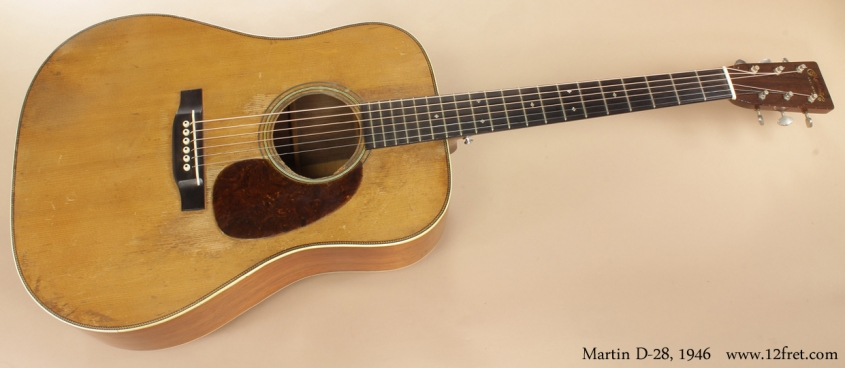 Martin D-28 1946 full front view