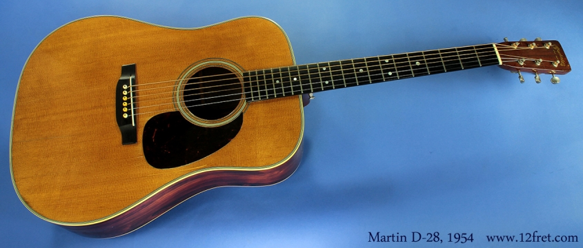 Martin D-28 1954 full front view