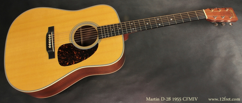 Martin D-28 1955 CFMIV full front view