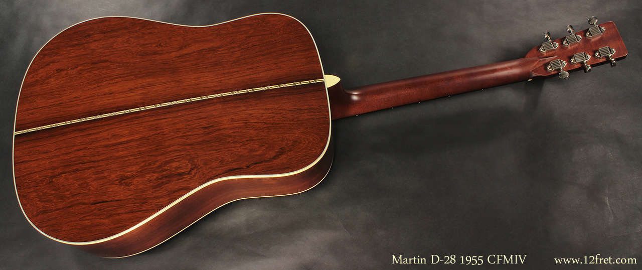 Martin D-28 1955 CFMIV full rear view
