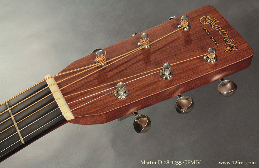 Martin D-28 1955 CFMIV head front view