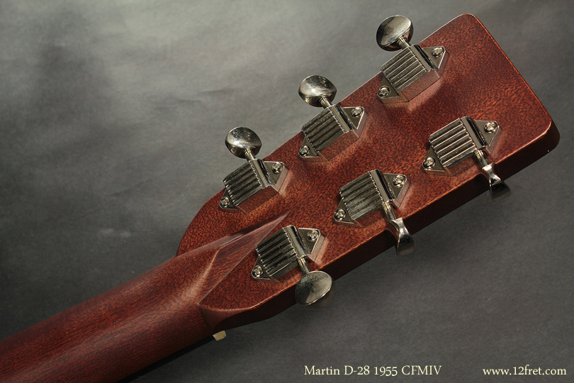 Martin D-28 1955 CFMIV head rear view